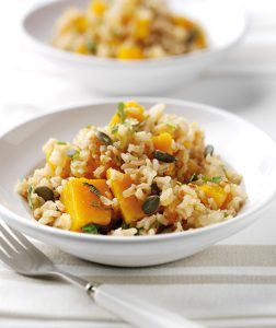 Baked Barley & Butternut Squash Risotto Recipe