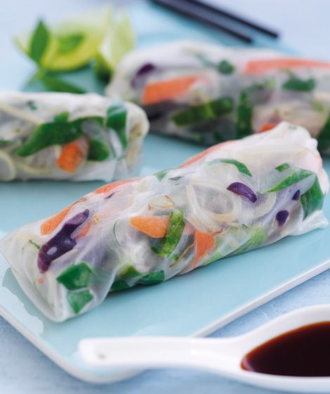 Vietnamese Spring Rolls Recipe Whole Grain Goodness
