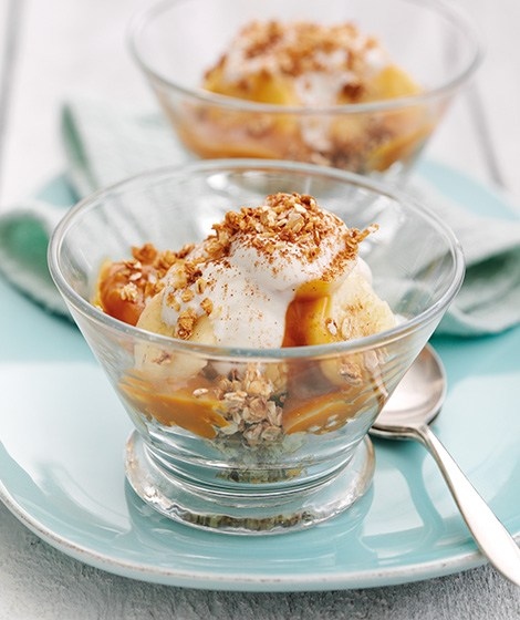 Banoffee Oat Dessert Recipe