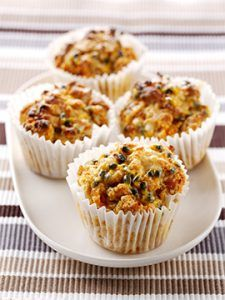 Mango & Passion Fruit Muffins