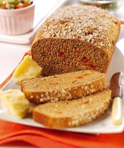 Seeded Brown Bread witSeeded Brown Bread with ToSeeded Brown Bread with Tomato & Herbs