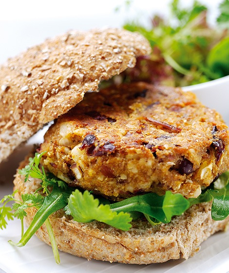Spicy Bean Burgers Recipe