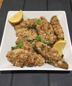 Quick and Easy recipes: Oat Coated Fish Fingers recipe image