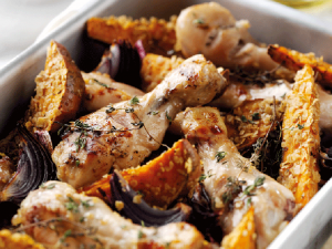 One Pot Chicken & Oaty Sweet Potato recipe image